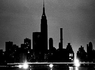 美国纽约大面积停电