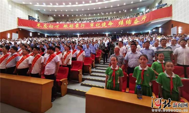 《古田军号》展映活动在衡水市安平县举办
