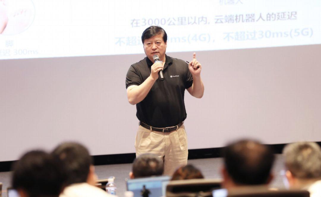 千行百业上5G 达闼科技黄晓庆:云端智能机器人是5G杀手级应用