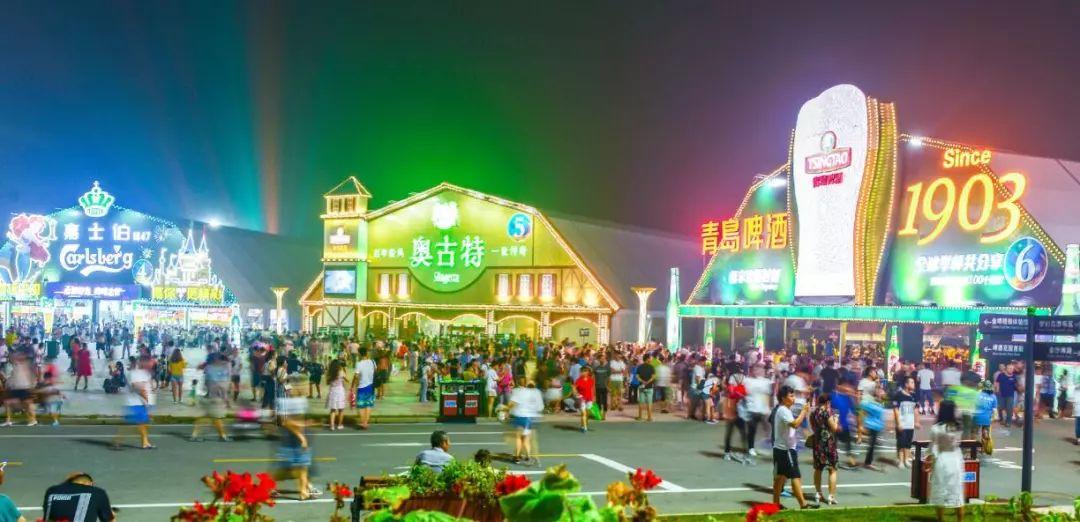 免门票 青岛啤酒节西海岸会场26日开幕,狂欢24天 跨海大桥免费 黄晓明要来 灯光焰火秀升级