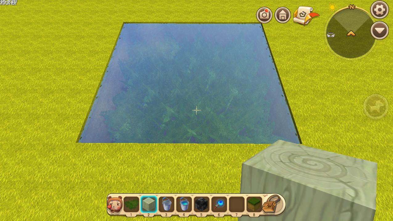 我的世界生存3:水是方块吗?这又是游戏特性吗?