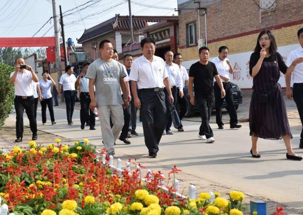 雄安新区安新县安新镇组织观摩党建述职活动