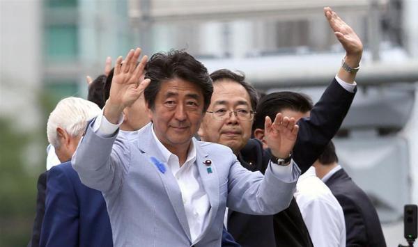 日民调:安倍执政联盟在参议院选举所获议席或将逼近修宪所需