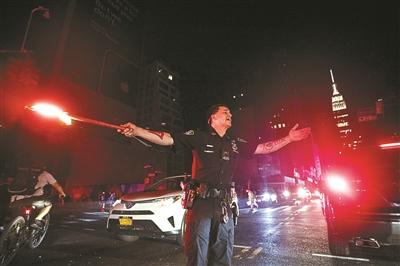 """""""纽约大停电""""周年日 纽约又停电了"""
