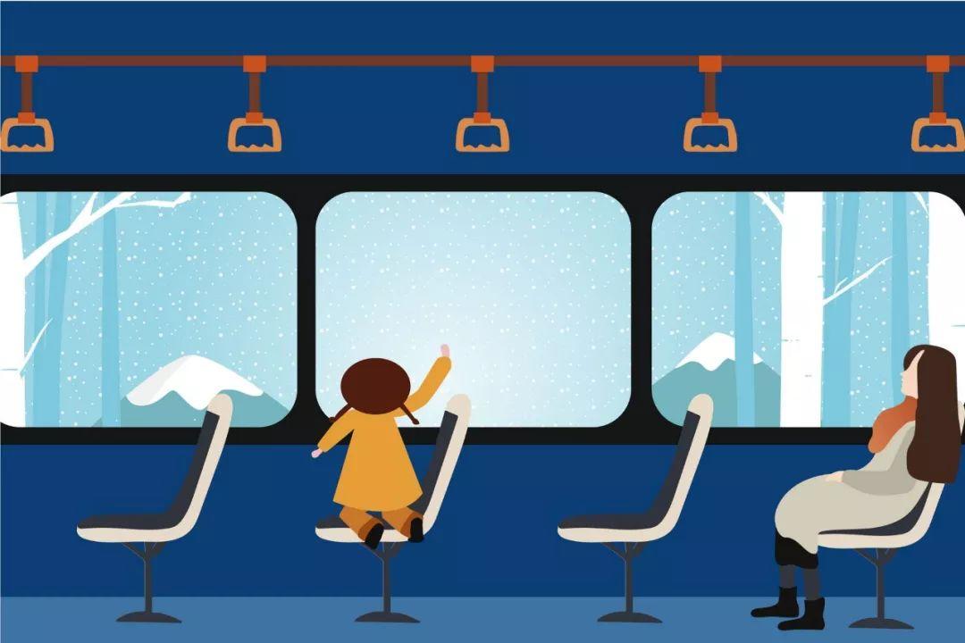6岁内免费乘公交
