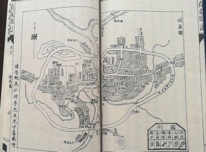 万载县城区规划图
