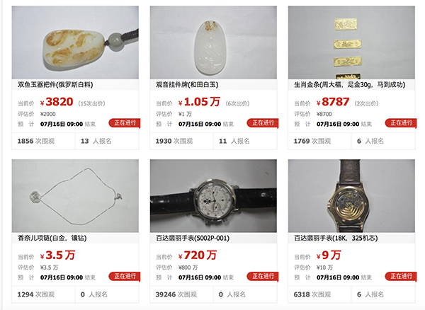 <b>周蓬安:厅官受贿名表起拍价720万,惊呆了大家</b>