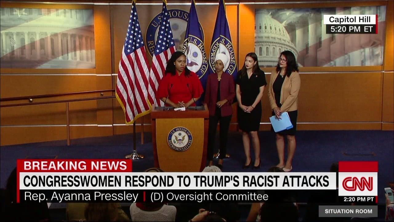 """4位女议员回击!穆斯林议员回怼特朗普""""支持基地""""指责(图4)"""