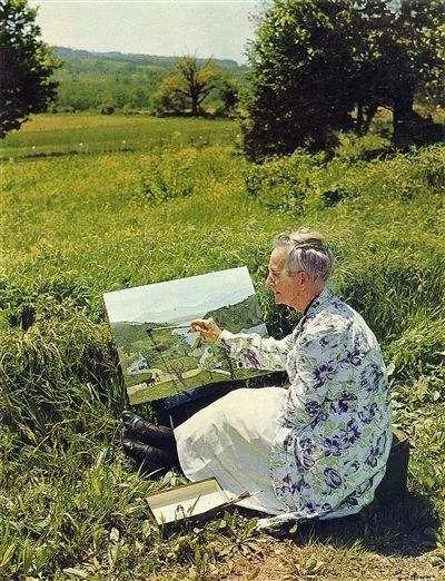 摩西奶奶X野歺,感受自然与灵感之间缓缓流淌的质朴