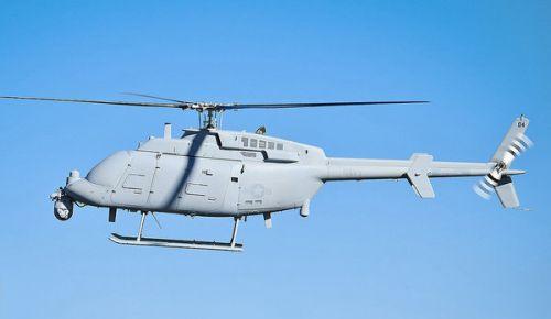 """MQ-8C""""火力侦察兵""""无人直升机形成初始作战能力"""