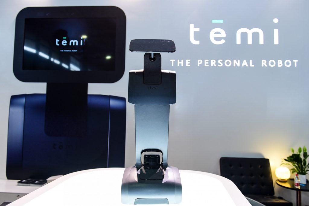 Temi机器人即将亮相3E北京国际消费电子博览会