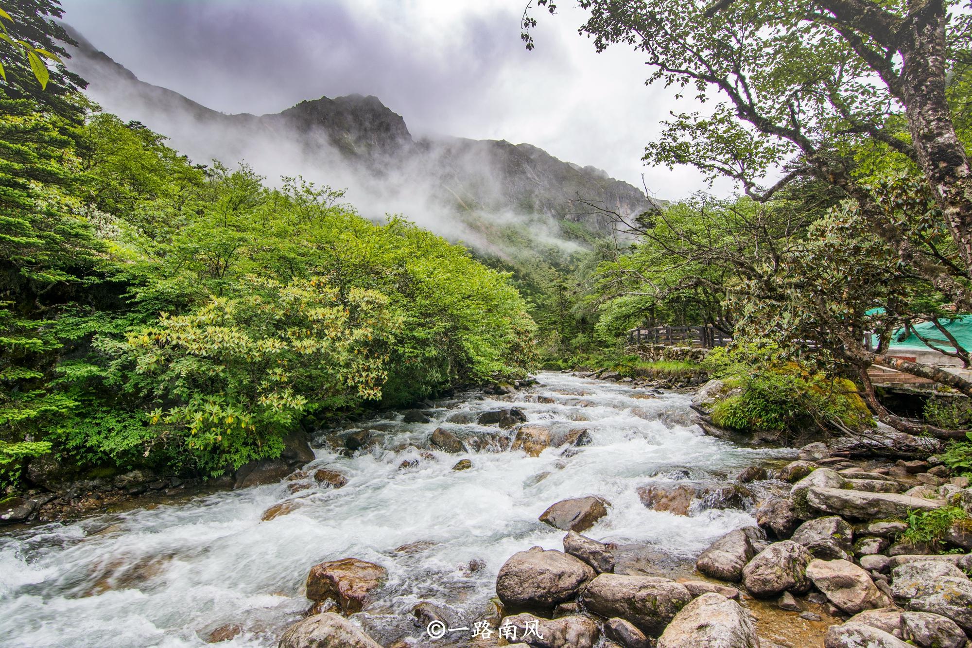 四川这个地方美呆了,云雾升腾似仙境,青山绿水就是金山银山!