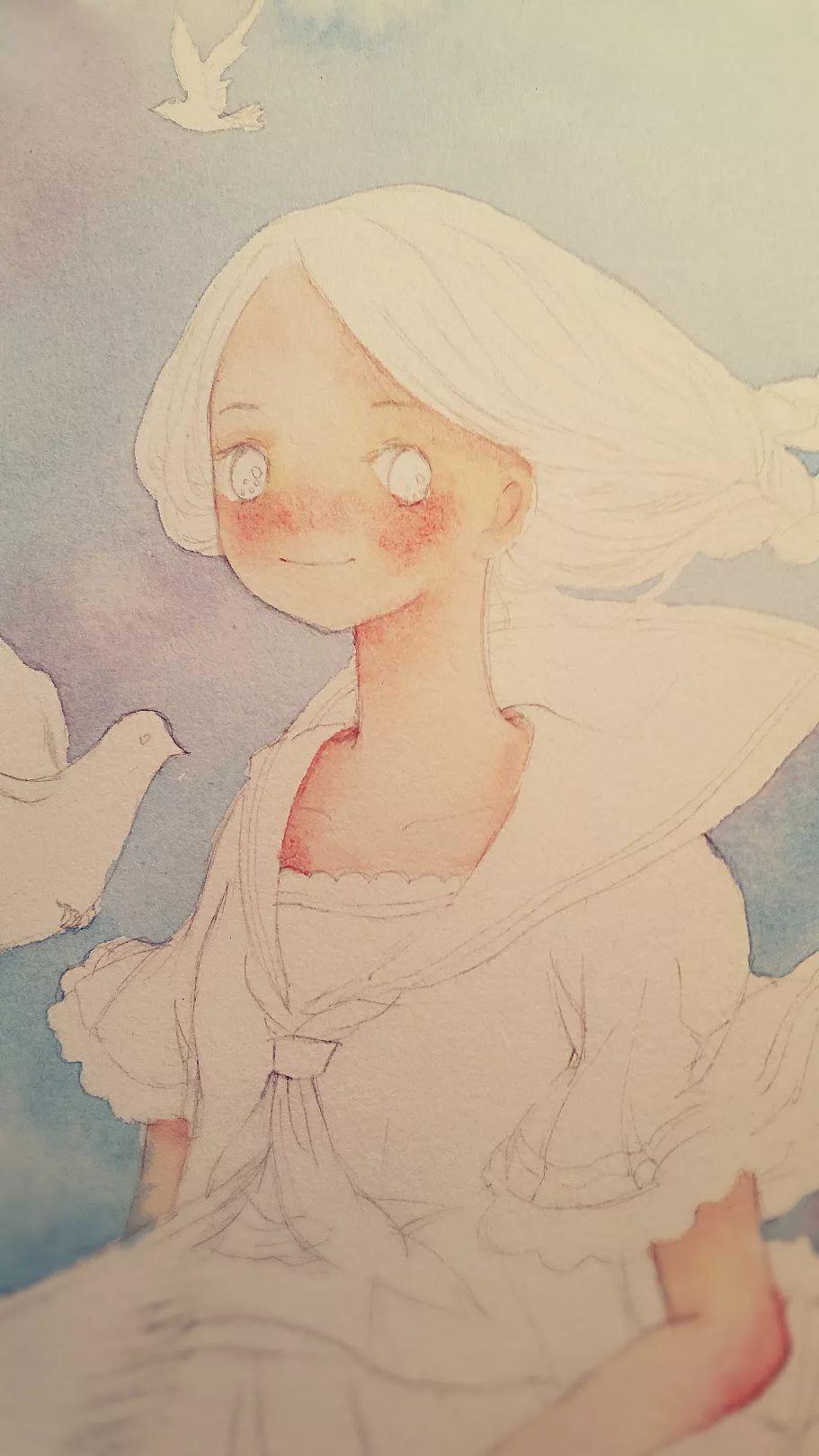 夜夜撸图片小说删除_镜花水月,插画师用一支水彩笔画出一个梦想王国!