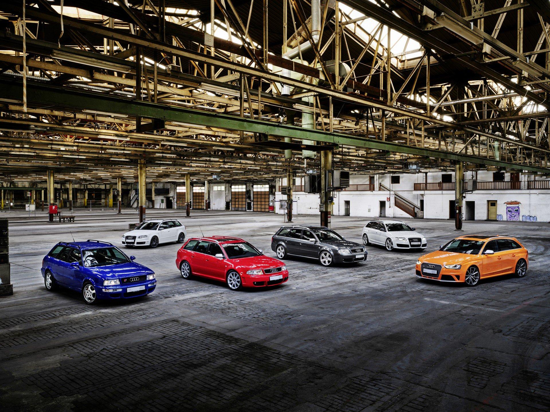 历经25年迭代 奥迪高性能阵容RS车型都发生了
