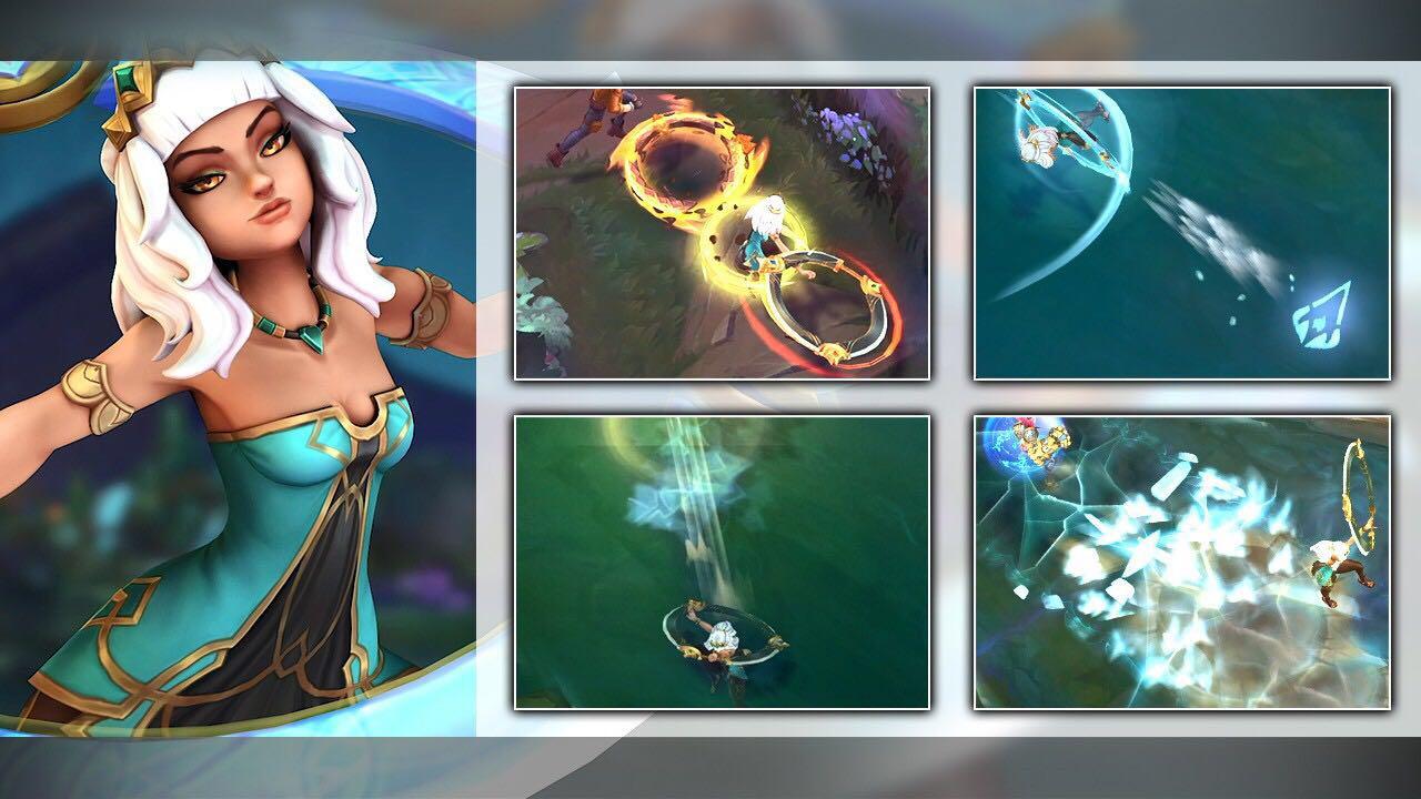 LOL:教你秒会新英雄元素女皇奇亚娜