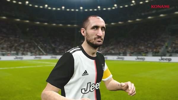 《实况足球2020》确认已签约尤文图斯 c罗帅气亮相图片