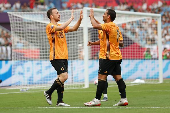 英超亚洲杯-怀特两球华裔小将出场 狼队4-0纽卡