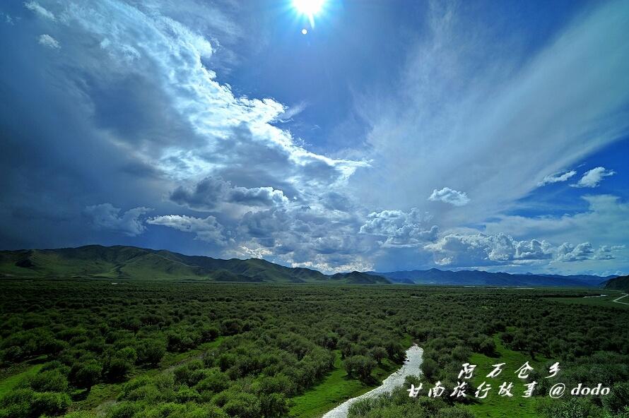 你要找的中国最美、最大的草原湿地核心区:阿万仓湿地