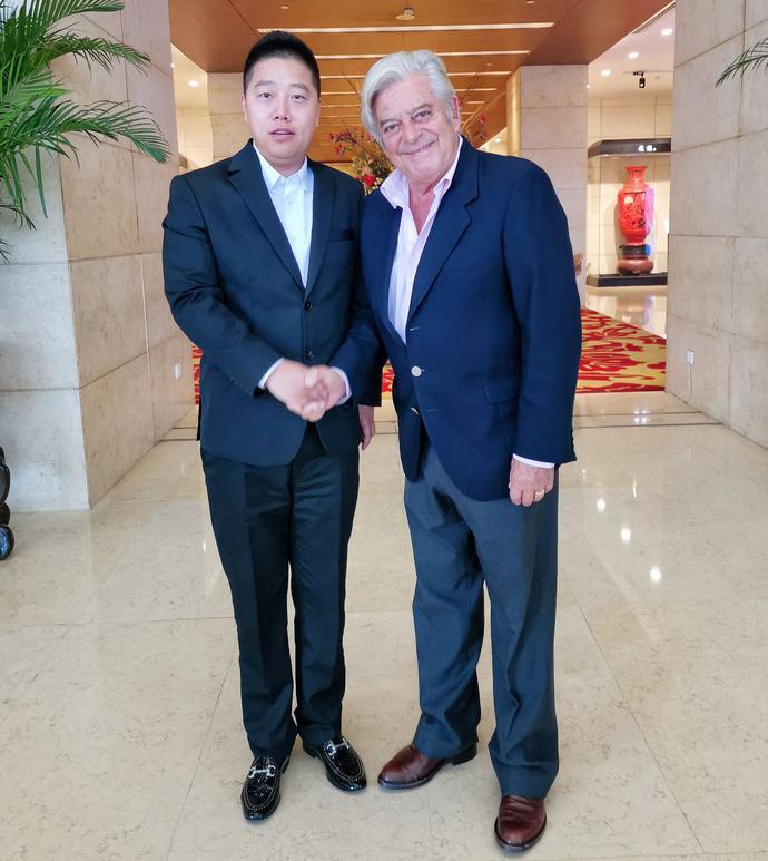 造梦者传媒集团董事长孟庆松出席国际行动理事会访华代表团晚宴