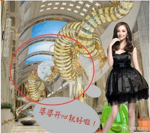 吴佩慈花9亿造巨龙只为讨婆婆欢心,网友:所以她能嫁入豪门了吗?