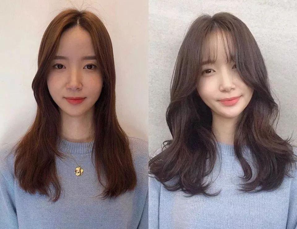 剪完换张脸?发型师公开整形刘海对比照,修饰发际线、脸型还显嫩