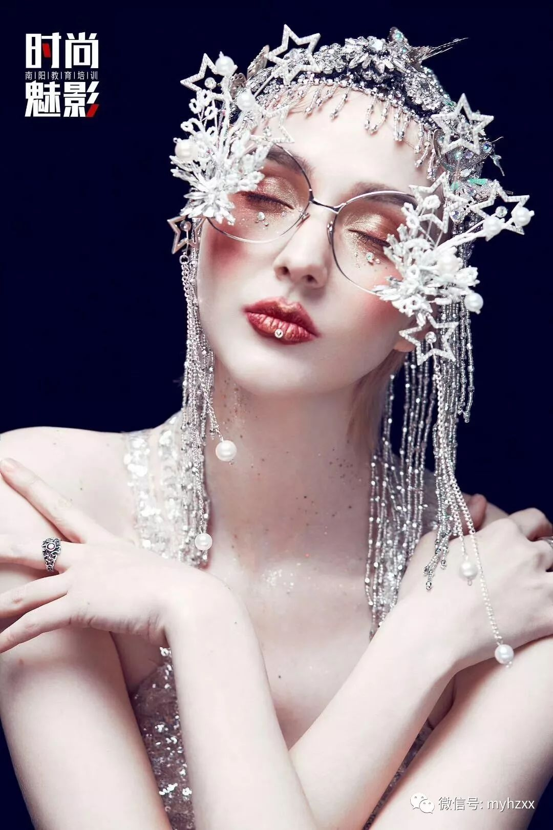 夸张的创意烟熏妆容, 如果你化妆师请记得收藏一下!