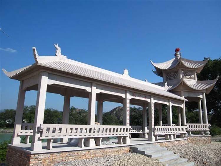 中国古建筑材料 石雕工艺所用的石材主要有哪些图片