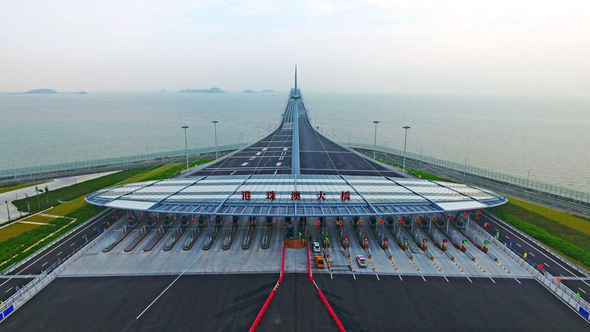细数耗资千亿港珠澳大桥通关车辆少的原因