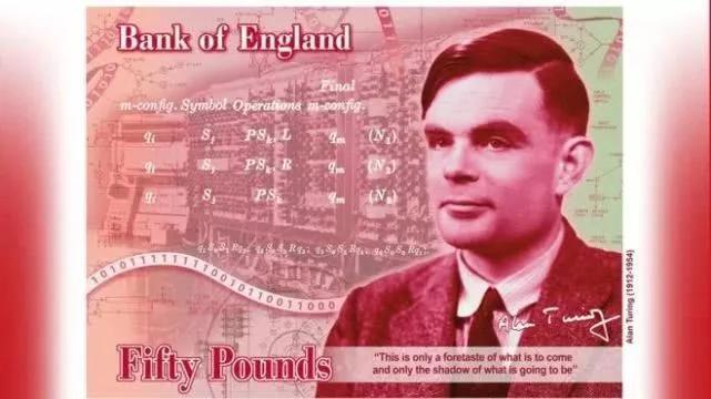 荣耀比肩英国女王,AI之父图灵成50英镑新钞人物!吴恩达等备受鼓舞