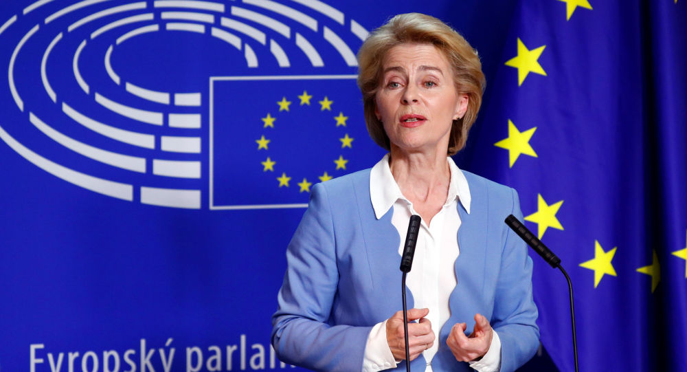 德国前防长当选欧盟委员会主席 承诺建设团结强大的欧洲