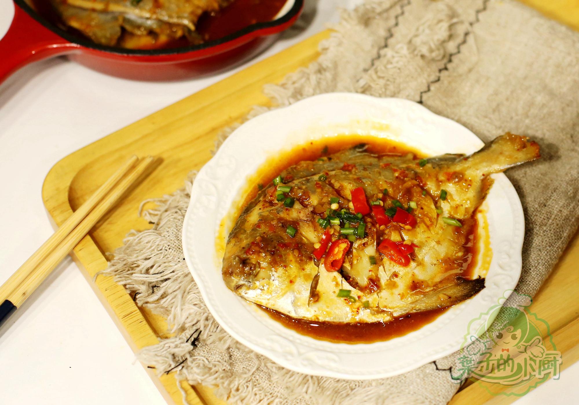 不管做什么鱼,一招就好吃!海鱼也无腥!汤汁拌了一大碗面,超棒