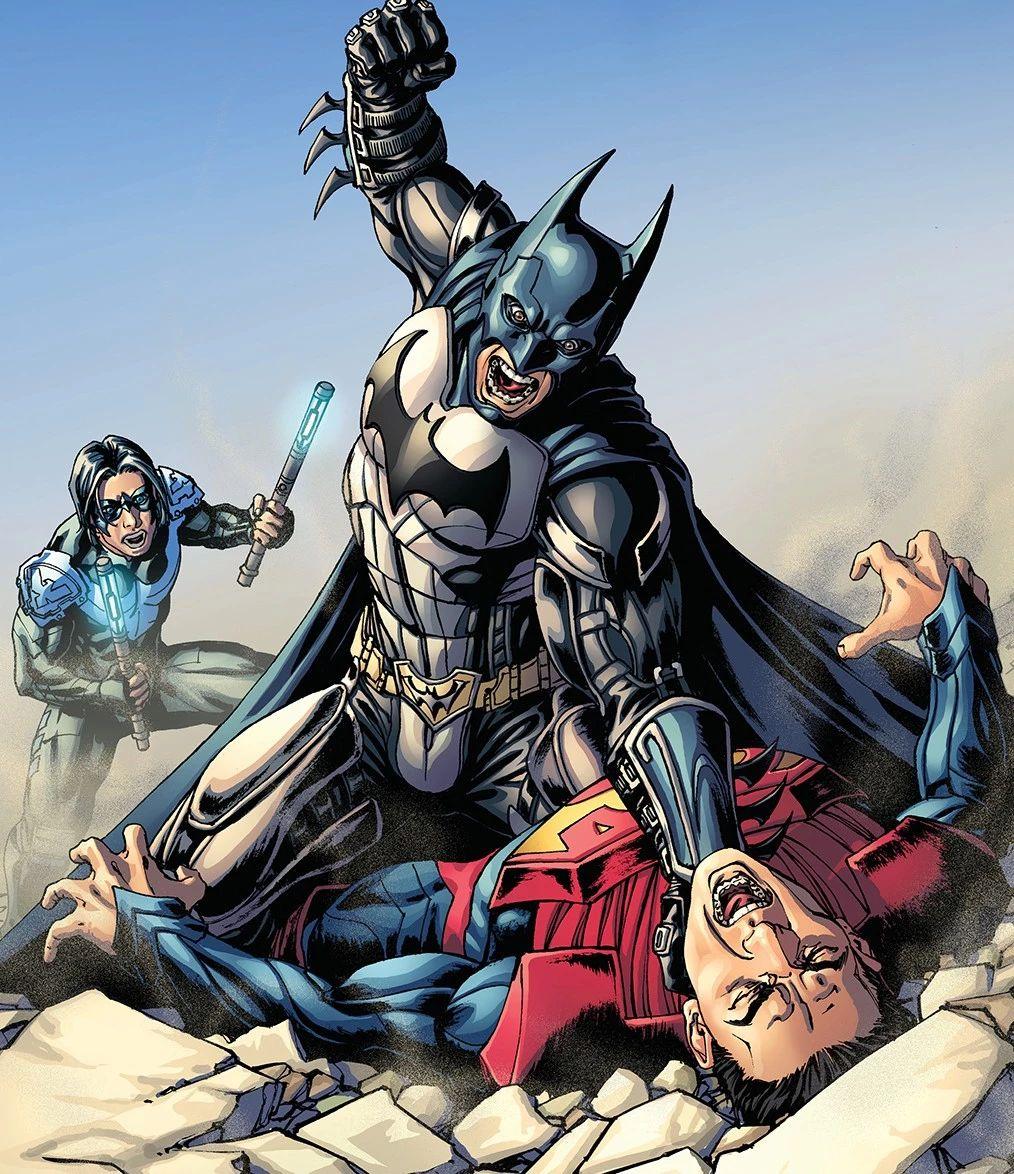 ?蝙蝠侠做过最艰难的决定,本可以终结超人,却选择坚守正义!