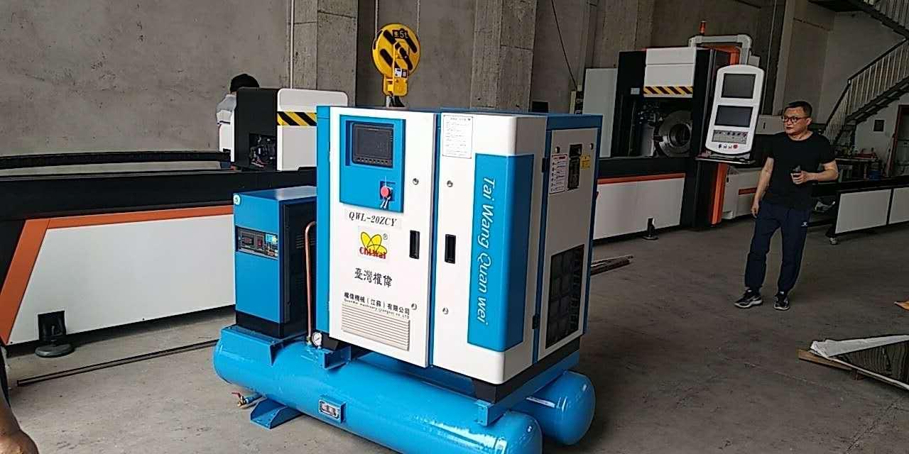 变频空压机厂家,空压机与冷干机的匹配?