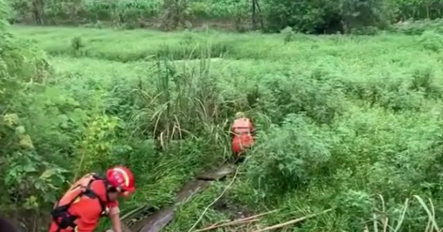 7旬老人去就医,却突然跳进路边池塘泡澡,原因令人吃惊