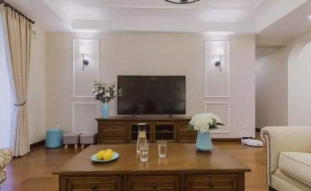 石膏线电视墙造型效果图 石膏线电视墙装修注意事项