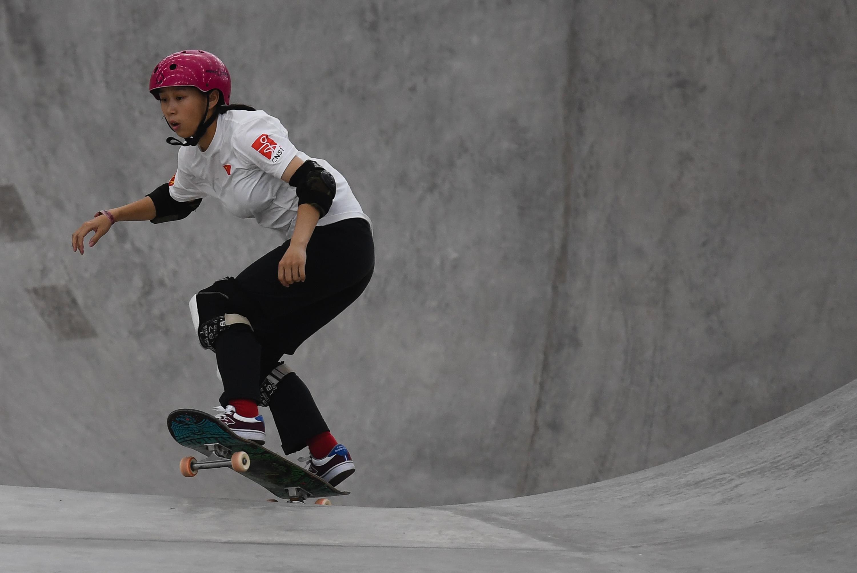 滑板——国际滑板公开赛:女子四分之一决赛赛况