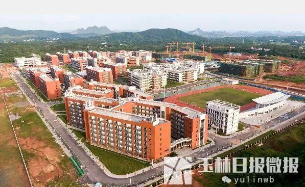 <b>大器琢成!俯瞰广西医科大学玉林校区,今年9月将迎来首批新生</b>