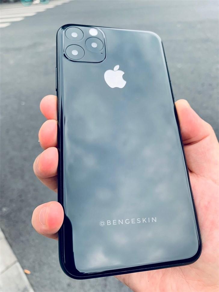 最新苹果iPhone 11机模出炉:基于CAD图制作_@Ben