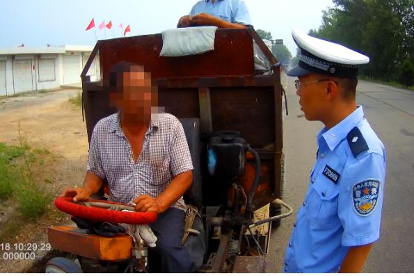 男子驾驶证被注销后仍驾驶机动车上路被原平交警查获