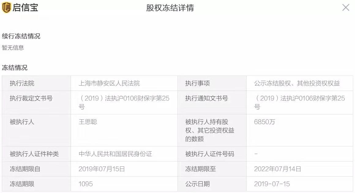 熊猫直播关停香蕉娱乐股权被冻结王思聪投资路又叒叕遇滑铁卢
