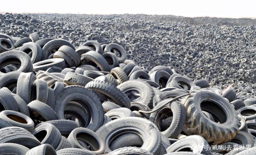 非洲为什么要大量收购我们的废弃轮胎?原因让人心酸