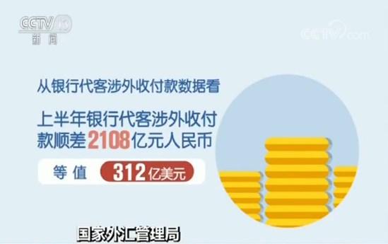 国家外汇管理局 公布2019年上半年外汇收支数据
