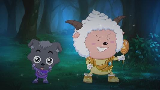 喜羊羊与灰太狼:身为狼却喜欢羊,小灰灰的性格让人细思极恐!