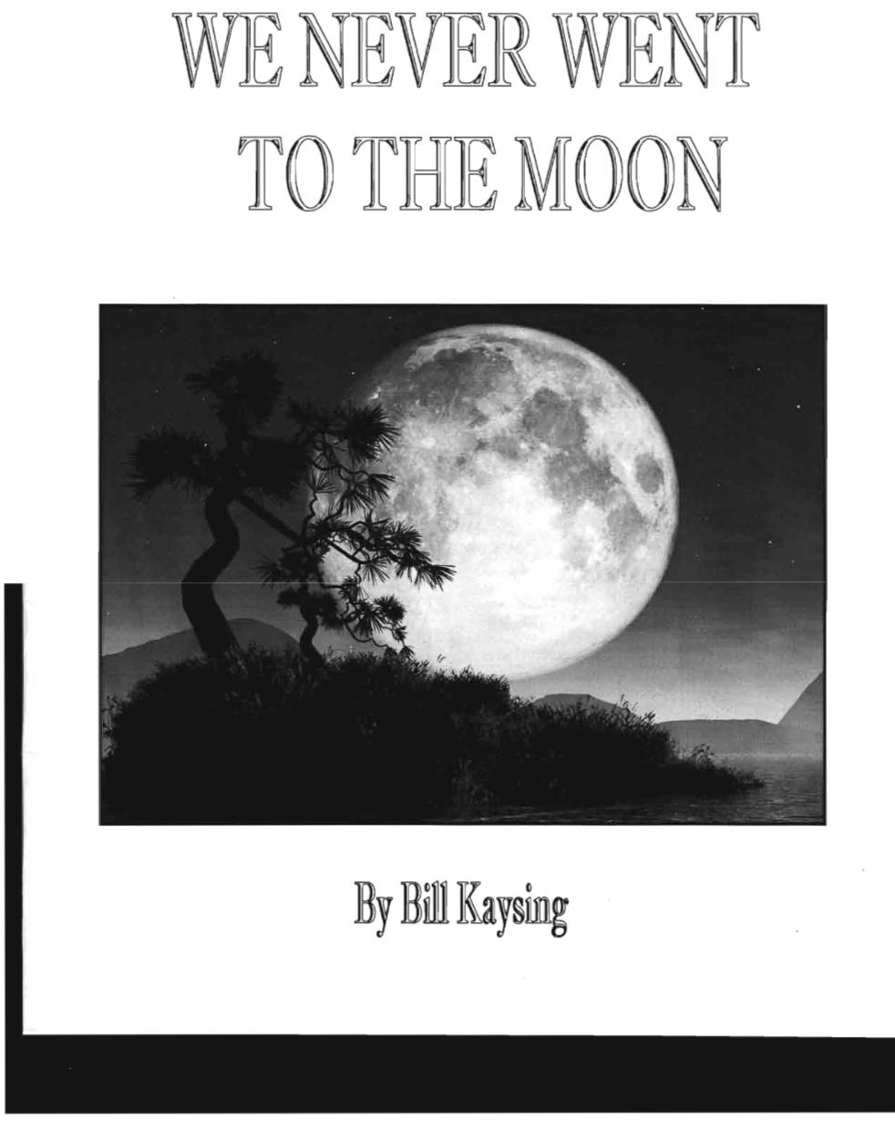 50 年前,我们到底有没有登上月球?