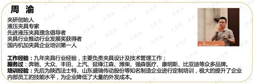 中国夹具企业家精品交流会现以上线 欢迎报名  夹具培训 第2张