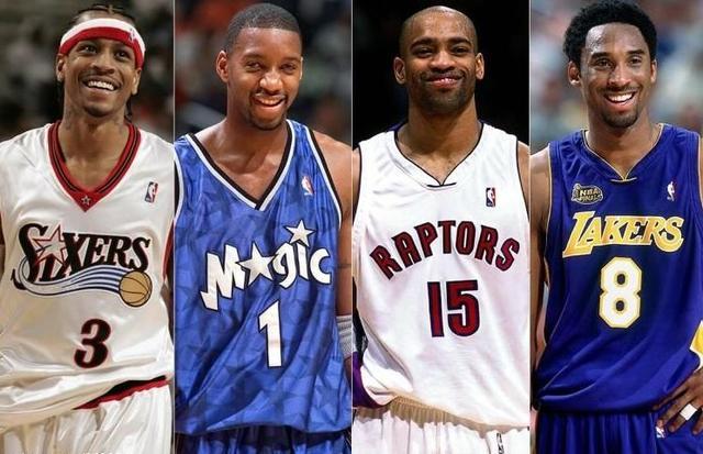 NBA曾经的四大分卫实力榜谁最强?bet36体育官网e