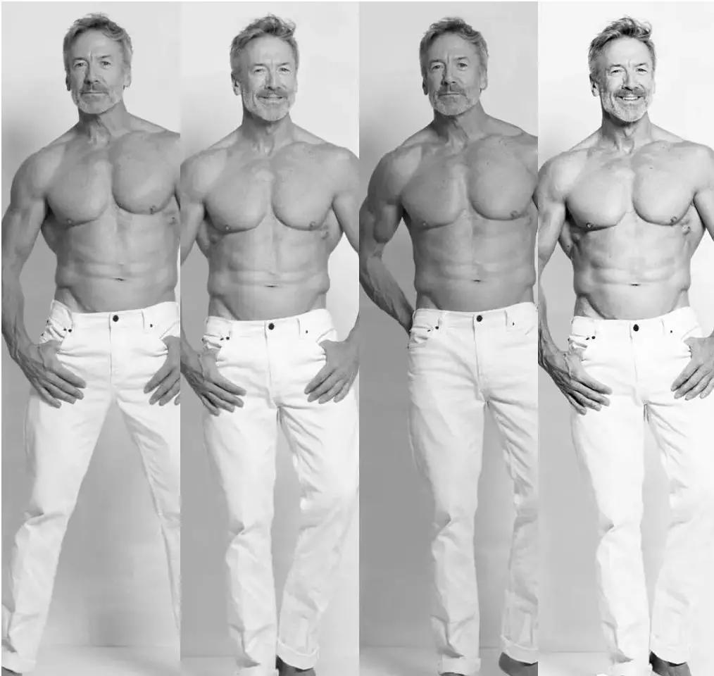 60岁肌肉Daddy爆红网络,30岁身材秒杀小鲜肉!