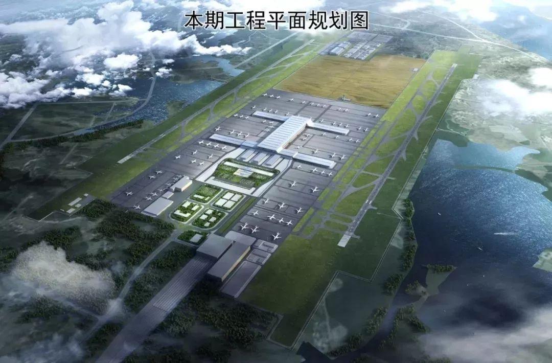 鄂州机场将于2021年建成运营!