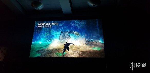 网友SDCC漫展屏摄《怪物猎人世界》冰原DLC演示