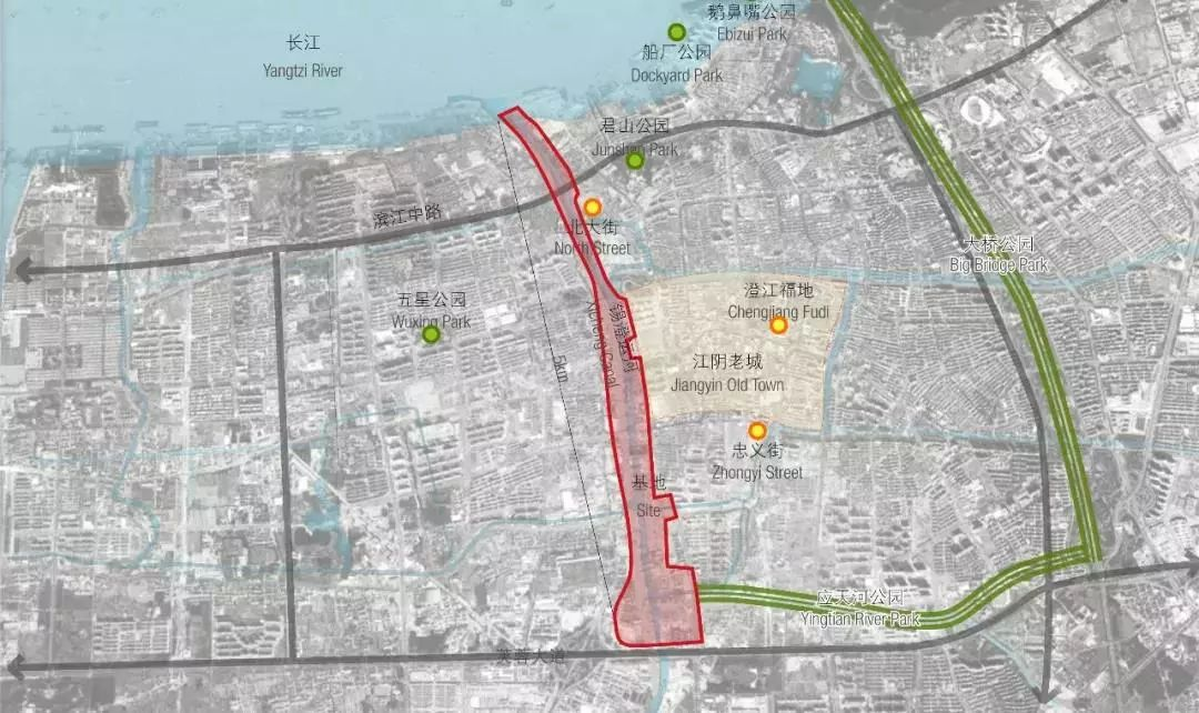 锡澄运河公园今天开工!江阴人开心,无锡人也受惠!
